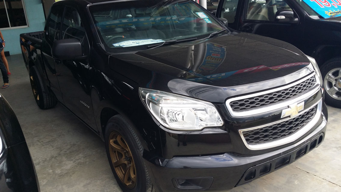 Chevy Colorado Farang Thailand