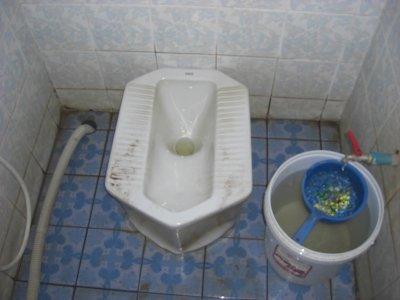 Thai squat Toilet