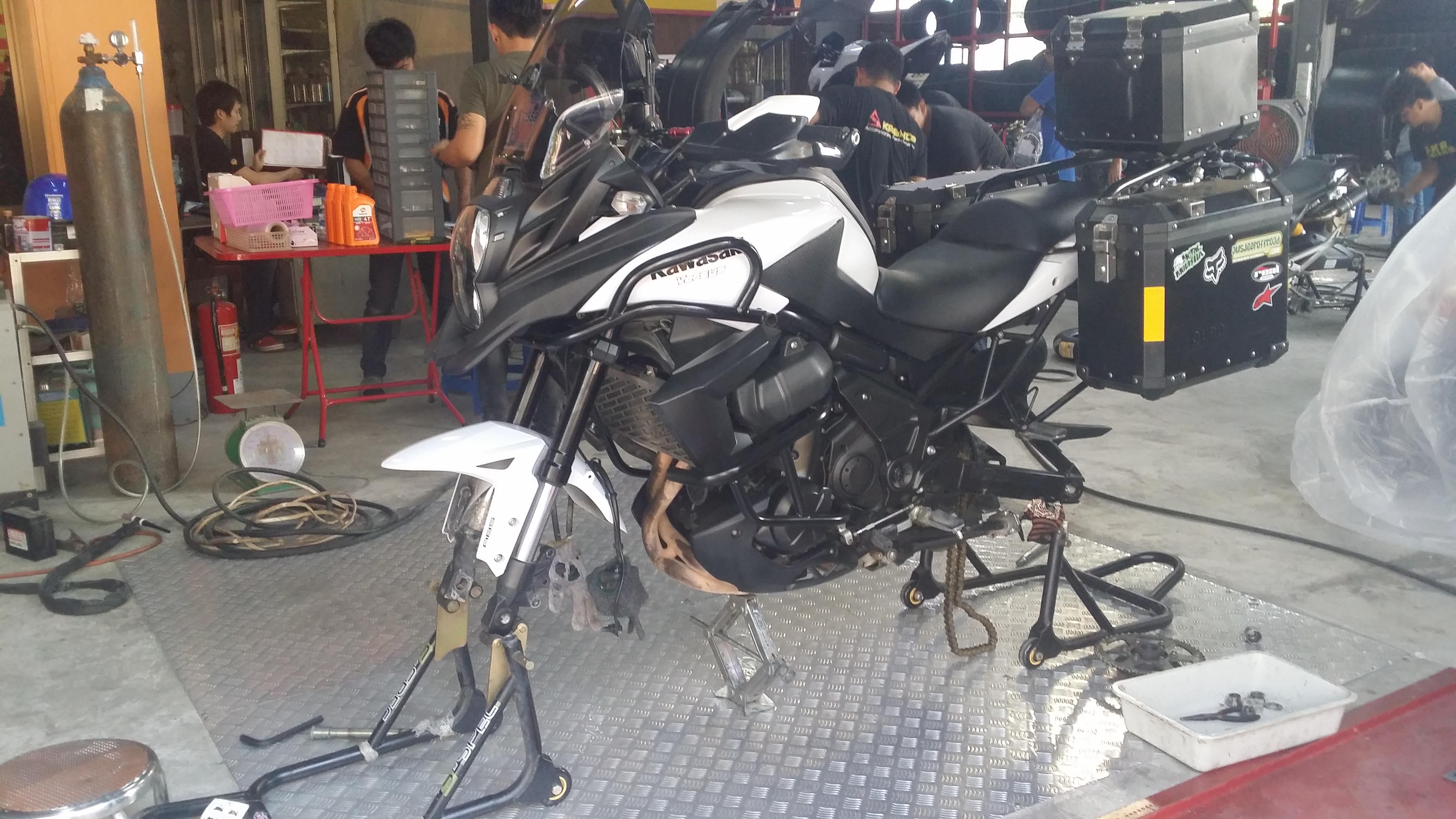 Kawasaki Versys Vee Rubber