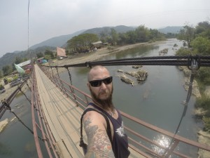 Suspension Bridge Vang Vieng