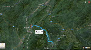 Kasi – Muang Nan road LaosKasi – Muang Nan road Laos