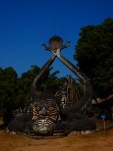 The Buddha Park Laos Vientiane