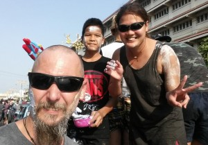 Songkran Ban Pong Ratchaburi Topless Girls