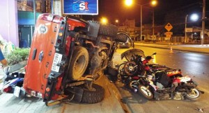 Thailand placed 2nd in world for road deaths; Why?