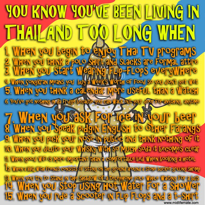 meme thailand living in Thailand farang