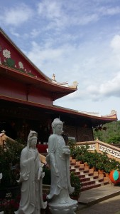 Wat Mettadharmabodhiyan Chinese temple Kanchanaburi
