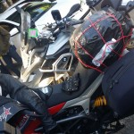 Adventure riding Ducati Hyperstrada
