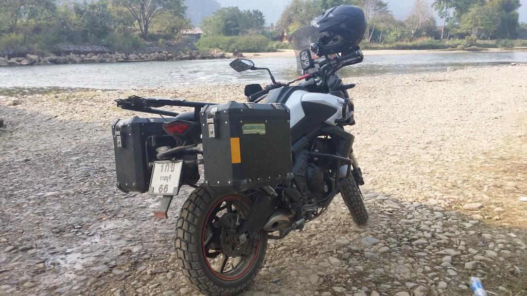 Motorcycle skid plate