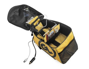 Black Fandango Pro Tank Bag waterproof Dry Pod liner