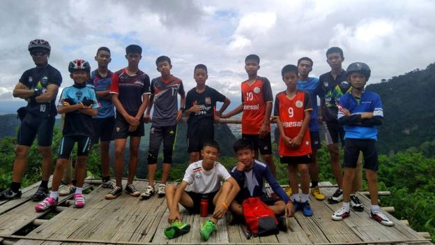 The boys aged 11 to 16 and their coach went to explore the Tham Luang caves on 23 June.