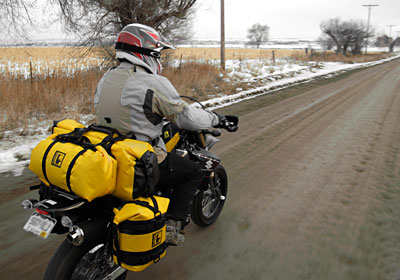 Best option for keeping luggage dry while Adventure